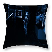 Mrush #34 In Blue Throw Pillow