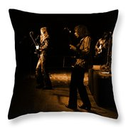 Mrush #9 In Amber Throw Pillow