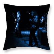 Mrush #9 In Blue Throw Pillow