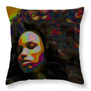 Ms Alt-titude Throw Pillow