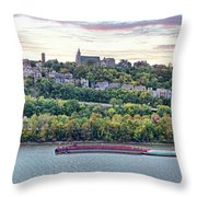 Mt Adams Cincinnati 9919 Throw Pillow