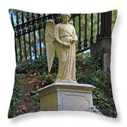 Mt Auburn Cemetery 3 Throw Pillow