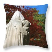 Mt Auburn Cemetery 8 Throw Pillow