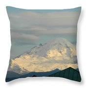 Mt. Baker Throw Pillow