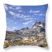 Mt Banner Throw Pillow