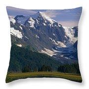 Mt Carpathian Throw Pillow