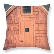 Mt. Cube Sugar Shack Orford New Hampshire Throw Pillow