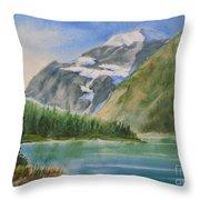 Mt. Edith Cavell W/c Throw Pillow