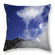 Mt. Etna  Throw Pillow