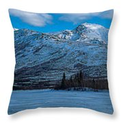 Mt. Healy Throw Pillow