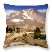 Mt. Hood Throw Pillow
