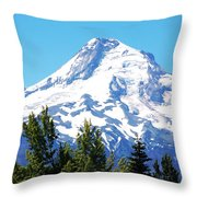 Mt. Hood Oregon Throw Pillow