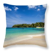 Mt. Irvine Beach Again Throw Pillow