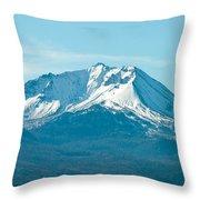 Mt Lassen  Throw Pillow