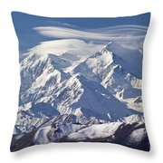 Mt. Mckinley Throw Pillow