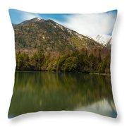 Mt. Mitsudake Throw Pillow