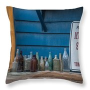 Mt Pleasant Seafood Throw Pillow