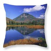Mt Rausudake Hokkaido Japan Throw Pillow