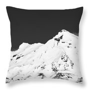 Mt. Ruapehu 2 Throw Pillow