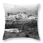 Mt. St. Helen's 2 Throw Pillow