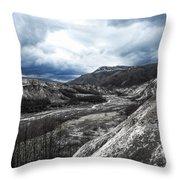 Mt. St. Helen's National Park 3 Throw Pillow