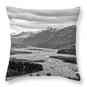 Mt. St. Helen's National Park Throw Pillow