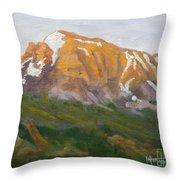 Mt. Tekarra Throw Pillow