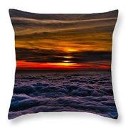 Mt Wilson Sunset 2 Throw Pillow