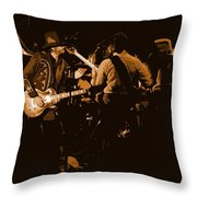 Mtb Jamming 1976 Throw Pillow