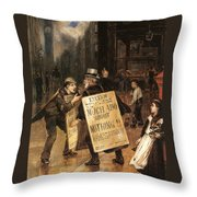 Much Ado About Nothing Throw Pillow