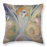 Much Magic Fairy Throw Pillow