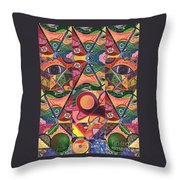 Much More Than A Face - A Joy Of Design Series Compilation Throw Pillow