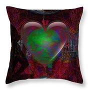Mucha Love  Throw Pillow