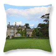 Muckross House 7630 Throw Pillow