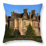 Muckross House, Killarney National Park Throw Pillow
