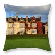 Muckross House - Killarney Throw Pillow