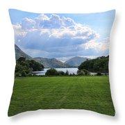 Muckross Lake 7633 Throw Pillow