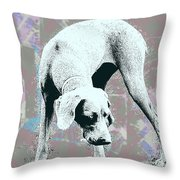 Mud Throw Pillow