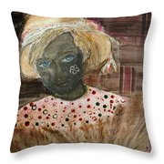 Muddy Throw Pillow