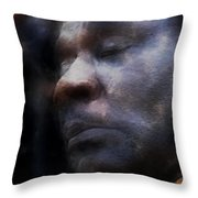Muddy Jr. Traveling Pigments Hp Throw Pillow