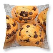 Muffin Tops 2 Throw Pillow