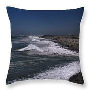 Mugu Lagoon Throw Pillow