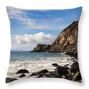 Mugu Rock Throw Pillow