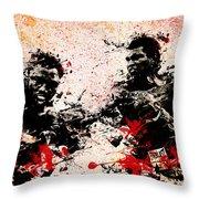 Muhammad Ali 2 Throw Pillow