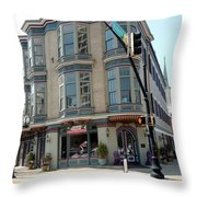 Mulberry Street Throw Pillow