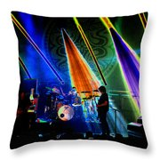 Mule #35 Psychedelically Enhanced Throw Pillow