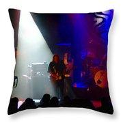 Mule #4 Enhanced Image Throw Pillow