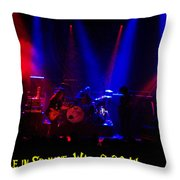 Mule #6 Enhanced With Text Throw Pillow