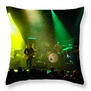 Mule #7 Enhanced Image Throw Pillow