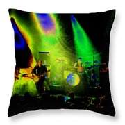 Mule #7 Enhanced Image In Cosmicolor Throw Pillow